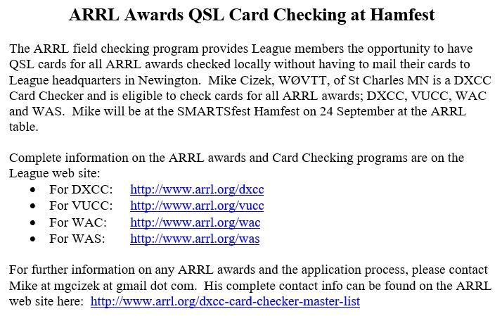 QSL Card Checking