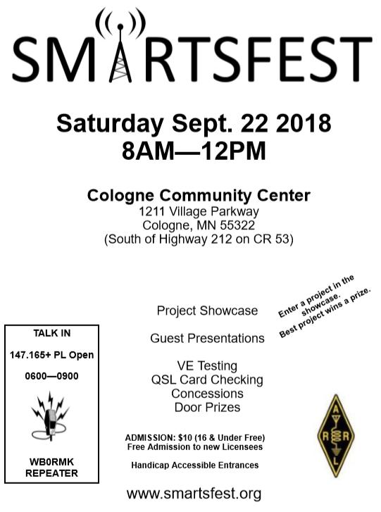 SMARTSFEST 2018 Update – SMARTS